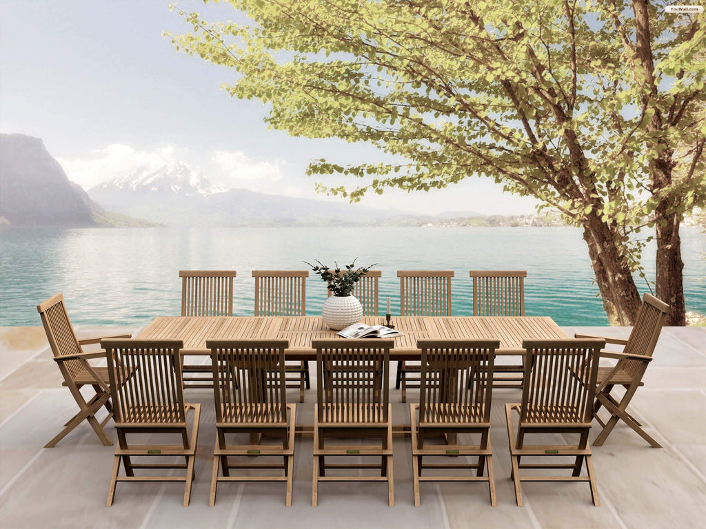 Valencia Classic 13-pc Dining Table Set