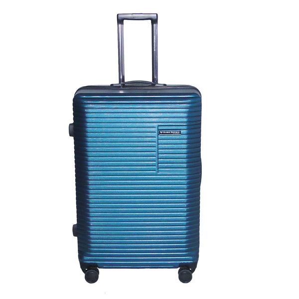 Large Size Light Polycarbonate Trolley Luggage Bags (Blue Color)