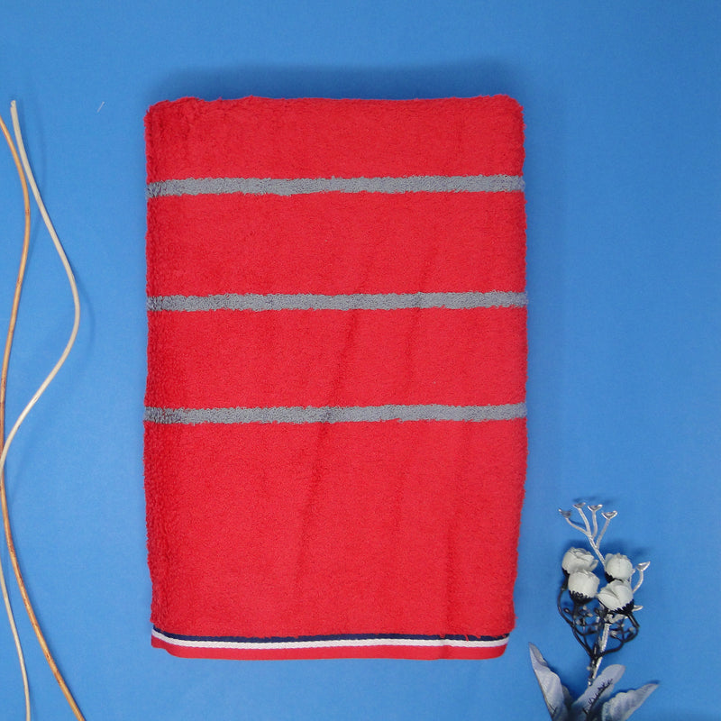 Red Super Absorbent Bath Towel (70x140)