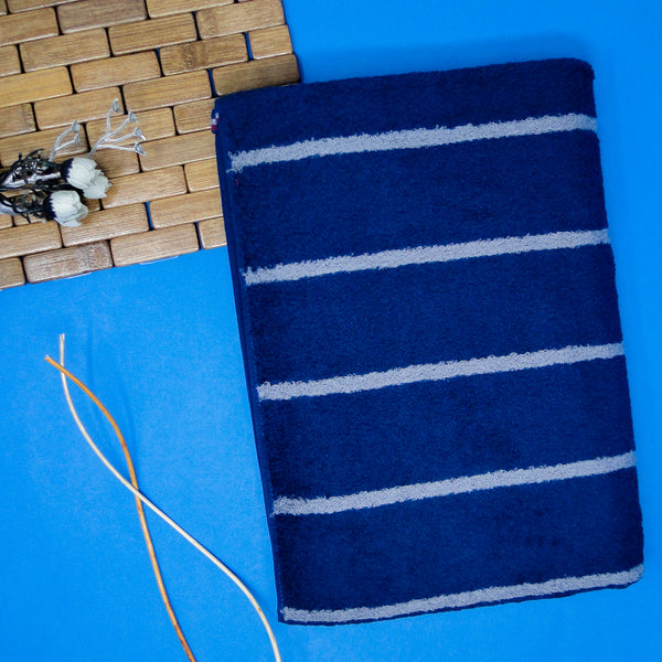 Blue Super Absorbent Bath Towel (70x140)