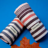 Blue, Grey and Pink Super Soft Hand Towels (34x75) - Pack of 3