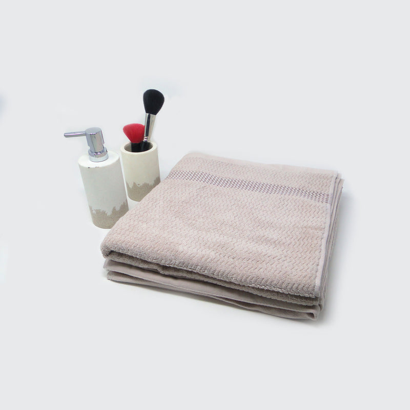 Pack of 2 Fawn Super Absorbent Bath Towel (70x140)