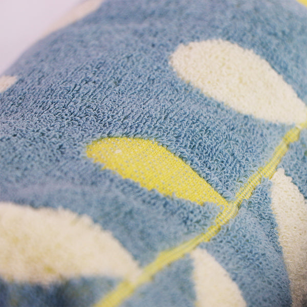 Green & Blue  Super Absorbent Solid Bath Towel (70X140,34X75)