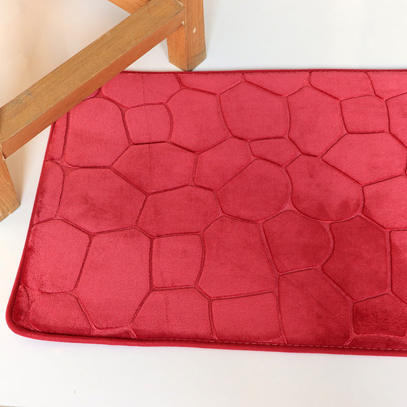 Red Antislip Bath Mat (45X70)