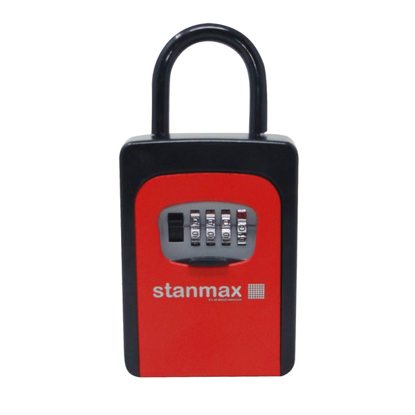 Weatherproof Iron Key Safe with Combination Lock