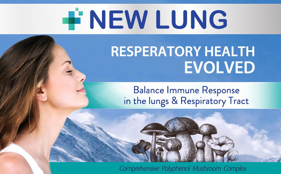 mushroom lung health supplement
