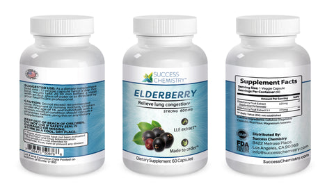 Elderberry for lung health