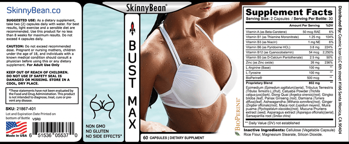 Success Chemistry BUST support by Skinny Bean® ⚕️BUST SUPPLEMENT