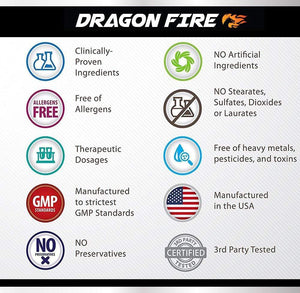 Success Chemistry esports Video game supplement 🐲🔥🐲 Dragon FIRE™ Focus Formula | E-Sports Supplement | E-Sports Supplement