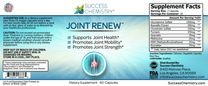 Success Chemistry Joint health vitamins 🤸‍♀️  joint mobility supplement with glucosamine