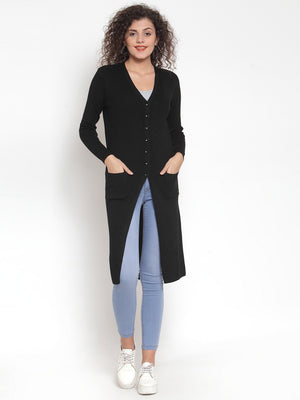 Women Black Winter Coat