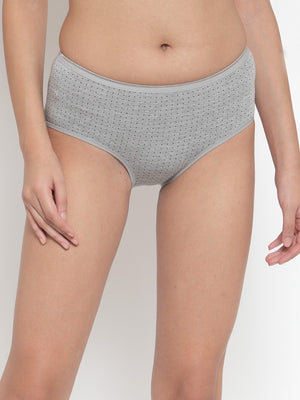 Women Solid Grey Panty
