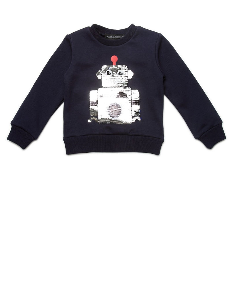 Kids Navy Sweat Shirt