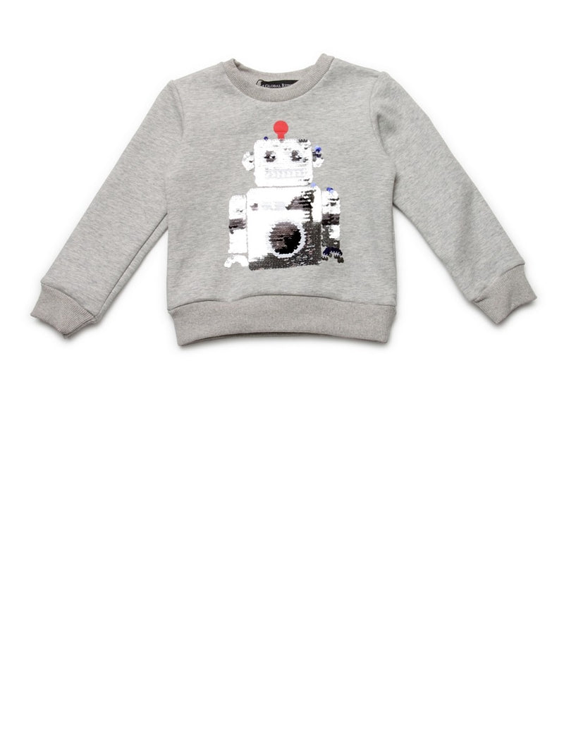 Kids Grey Sweat Shirt