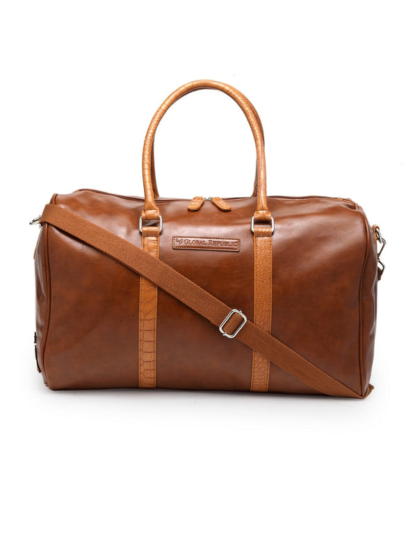 Brown Travelling Duffel Bag (19X11X9)