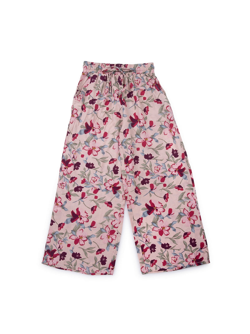 Kids Printed Pink Lower