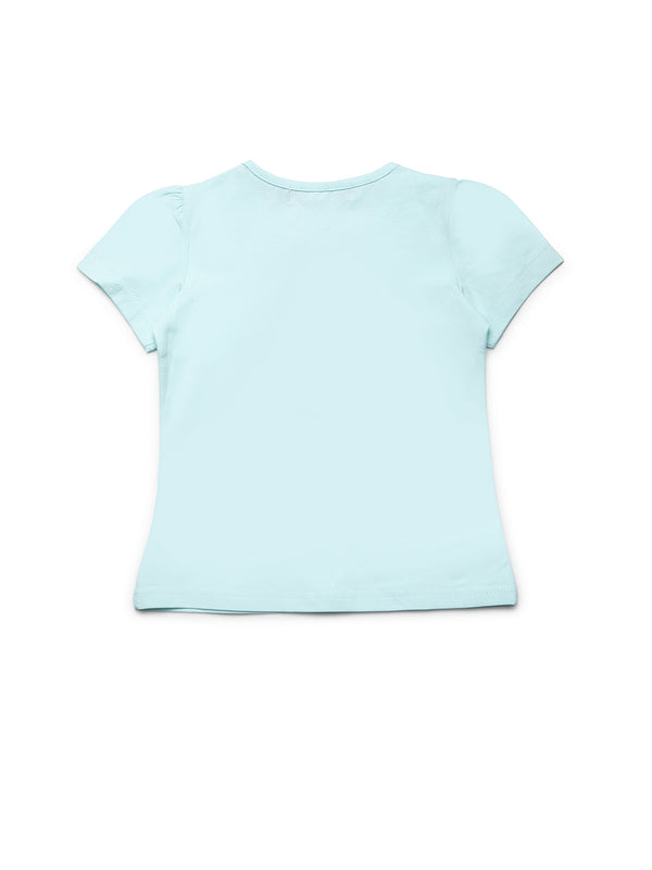 Girls Green Cotton Top