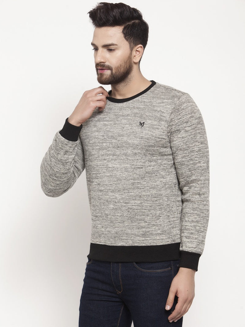 Mens Grey Sweat Shirt