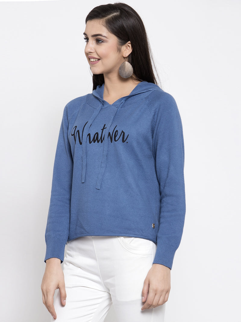 Women Denim Pullover