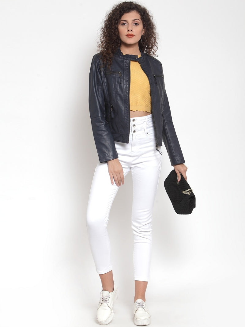 Women Navy Jackets