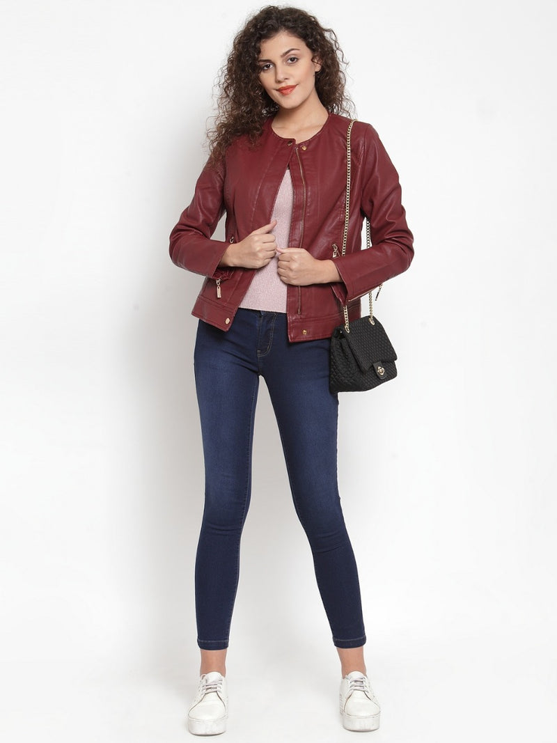 Women Wine Jackets