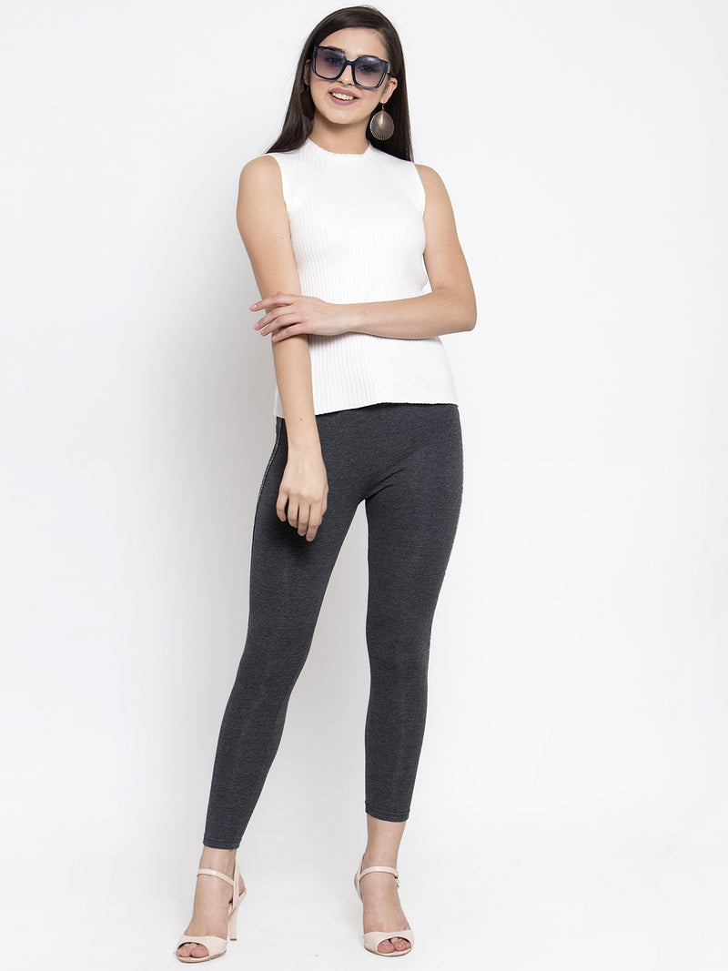 Women Grey Legging