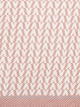 Women Pink Scarf With Seamless Pattern