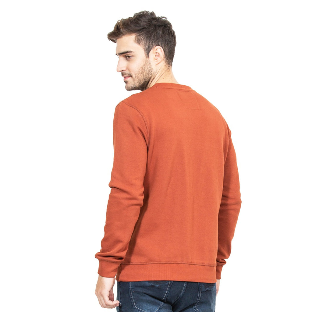 Mens Sweat Shirt Rust