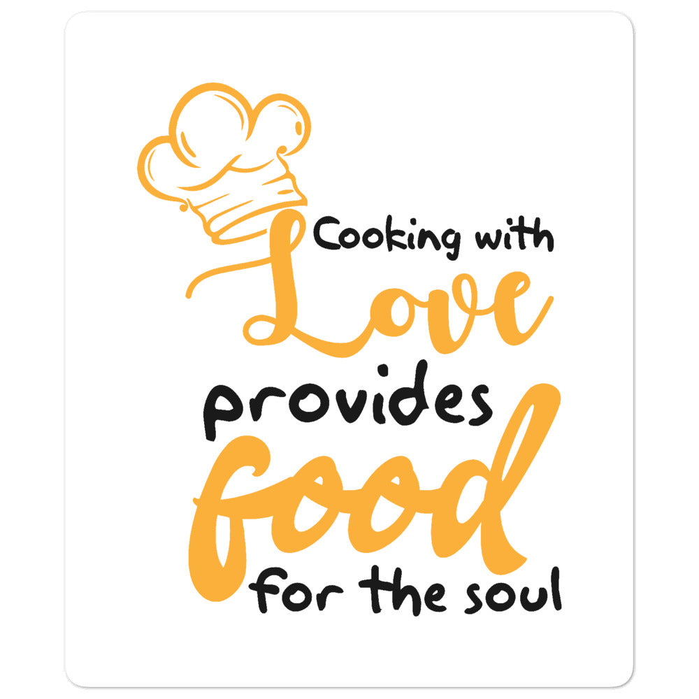 Soul Food Bubble-free stickers