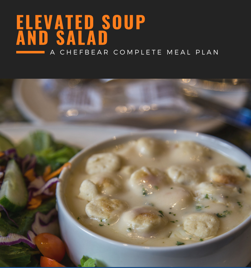 Elevated Soup & Salad - A CHEFBear Meal Plan