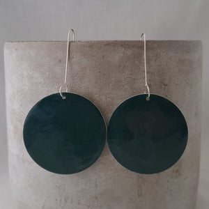emerald green | large circle disc
