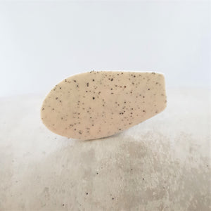 speckled | organic sideways | brooch