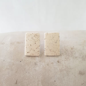 speckled clay | short rectangle | studs