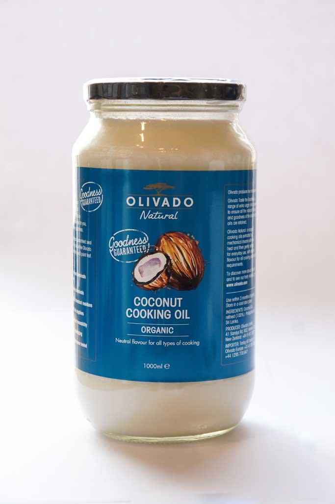 Organic Olivado Coconut Oil 1000ml-Condiments-SproutTheGrocer