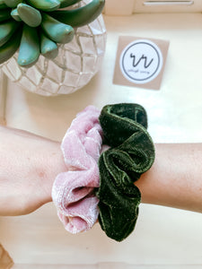 BREAKFAST CLUB Double Pack Scrunchies