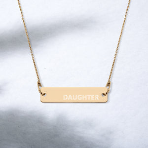 DAUGHTER Affirmations Necklaces