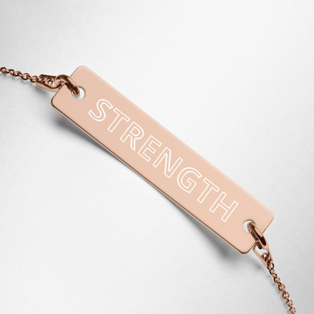 STRENGTH Affirmation Bracelet