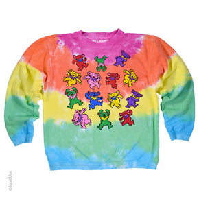 Grateful Dead Kids Spiral Bear Fleece