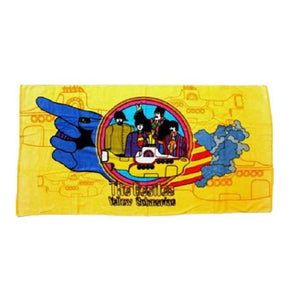 Beach Towel - Bea Yellow Sub