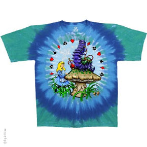 Alice And Caterpillar Tie Dye T-Shirt