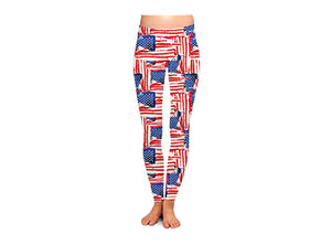 All American Women's USA Leggings