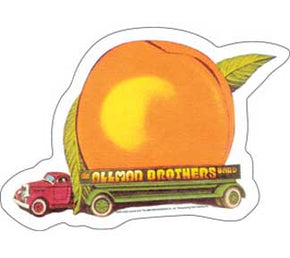Allman Brothers Band Eat a Peach Sticker