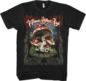 Allman Brothers Band Many Mushrooms T-Shirt