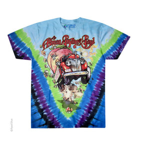 Allman Brothers Band Tie Dye Shirt