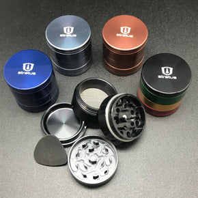 "Anodized 1.5"" 4 Piece Grinder"