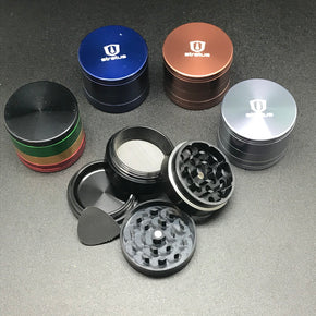 "Assorted Color 2"" 4 Stage Grinder"