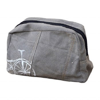 Bicycle Print Travel Bag By Clea Ray