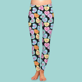 Bittersweet Women's Valentine's Day Leggings