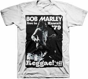 Bob Marley Live In Hawaii T-Shirt