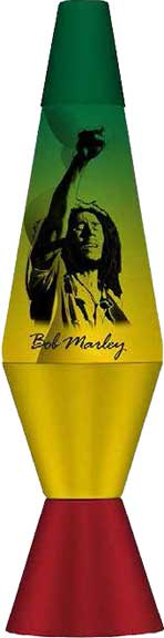 Bob Marley Power Lava Lamp